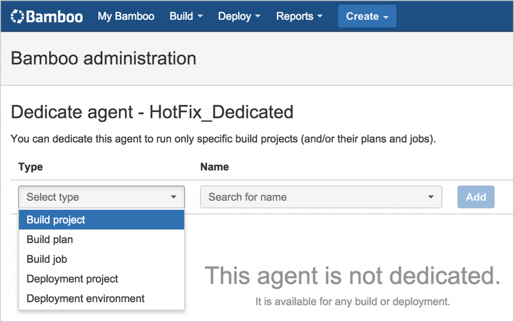 bamboo features dedicated agents