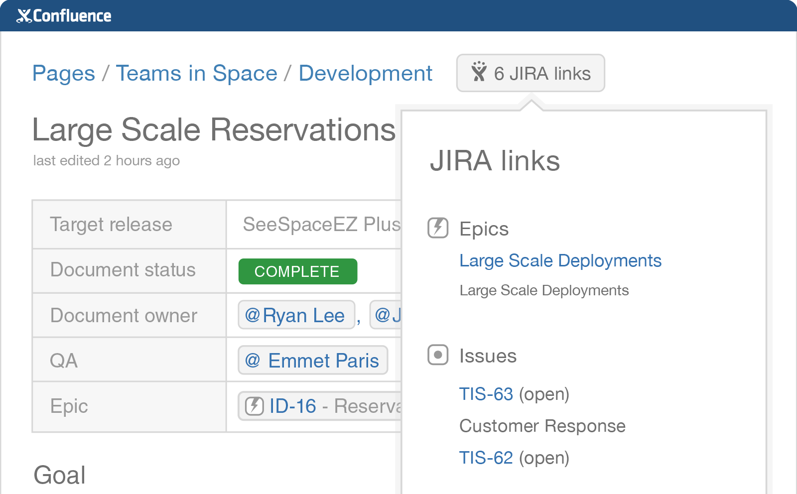 confluence overview jira