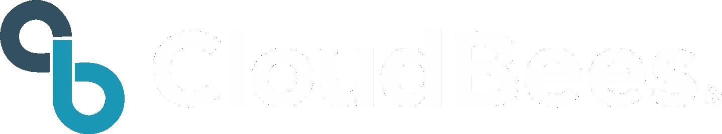 cloudbees logo white